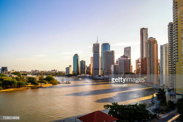 Australia, Queensland, Brisbane, skyline