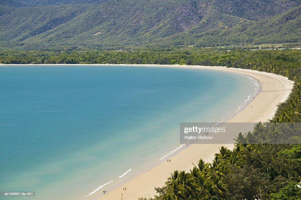 Australia, Queensland, Port Douglas, Four Mile Beach : Stockfoto
