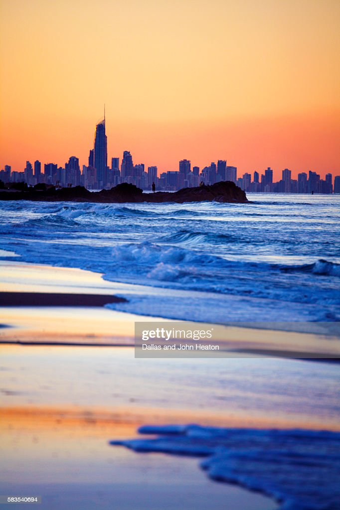 Australia, Queensland, Surfers Paradise : Stock Photo