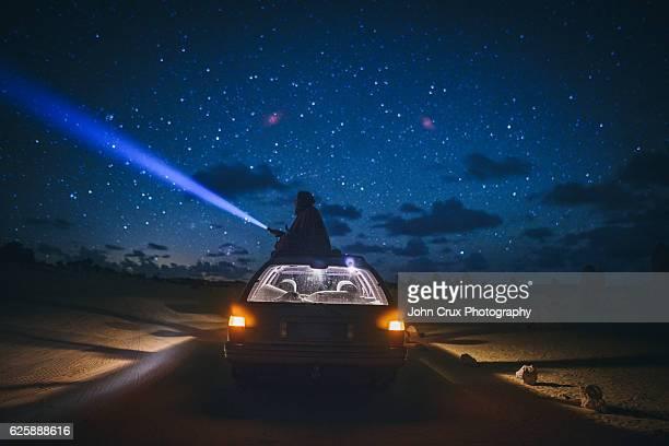 Australia star gazing