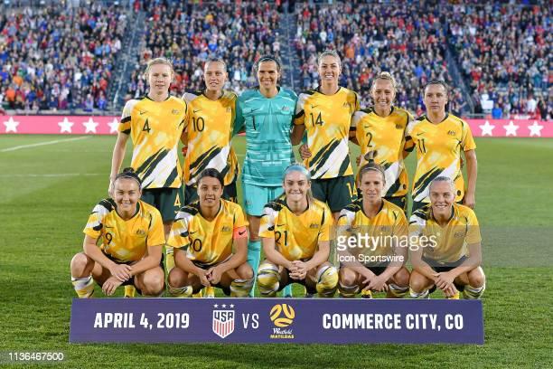 Australia starting XI Australia defender Clare Polkinghorne Australia midfielder Emily Van Egmond Australia goalkeeper Lydia Williams Australia...