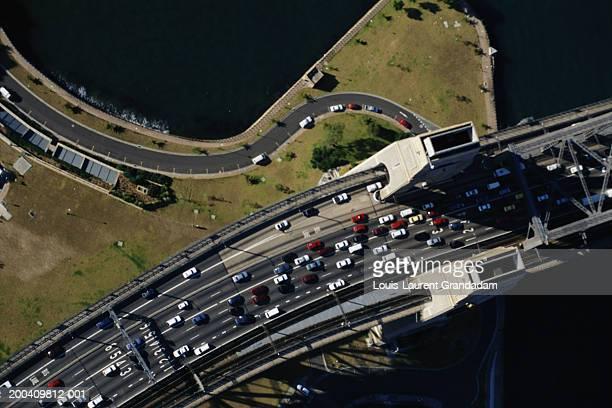 Australia, Sydney Bridge, aerial view