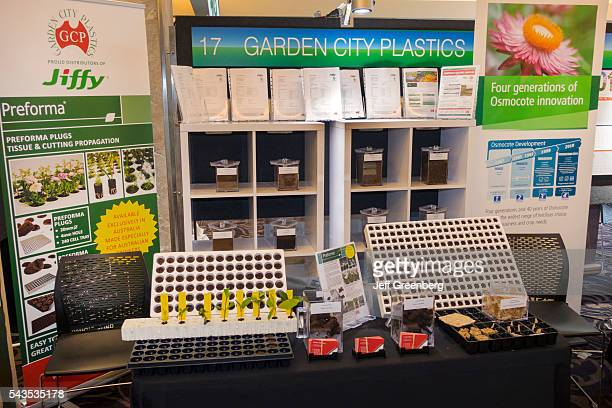 Australia Sydney Central Business District CBD Darling Harbor Cockle Bay Wharf nursery garden gardening show event exhibitor sign booth Garden City...