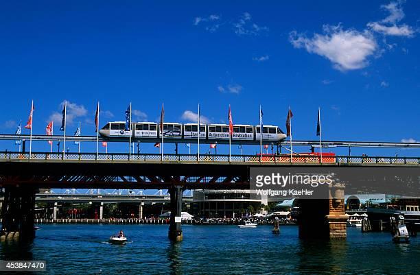 Australia Sydney Darling Harbour Monorail
