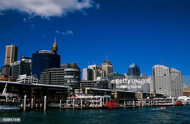 Australia Sydney Darling Harbour Paddle Wheeler