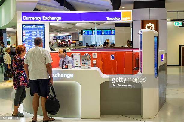 Foreign Currency At A Travelex Exchange