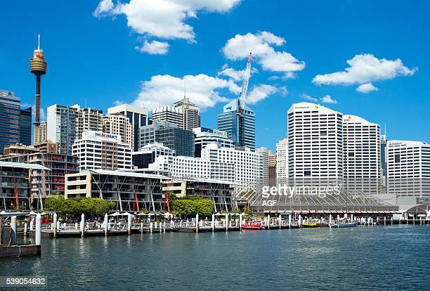 Australia Sydney Modern Buildings and Tourist Facilities in Darlin Harbour
