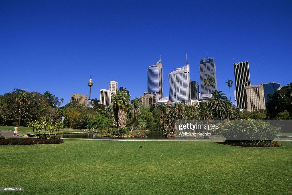 Australia, Sydney, Royal Botanical Garden, Sydney Skyline In... : News