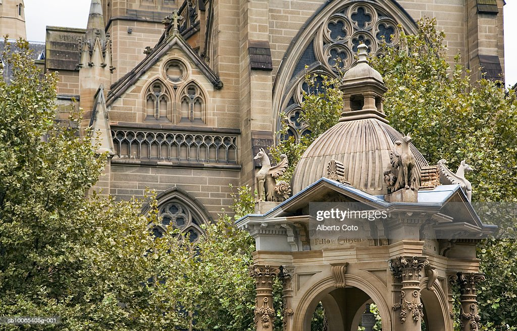 Australia, Sydney, St. Mary's Cathedral : Foto stock