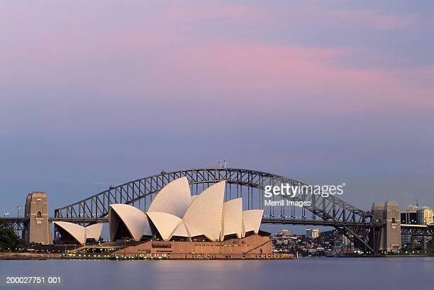Australia, Sydney, Sydney Opera House and Harbor Bridge