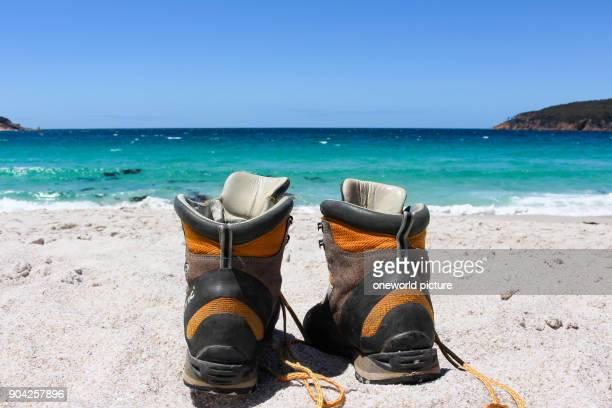 Australia Tasmania Freycinet Peninsula Wineglasbay offseason hiking