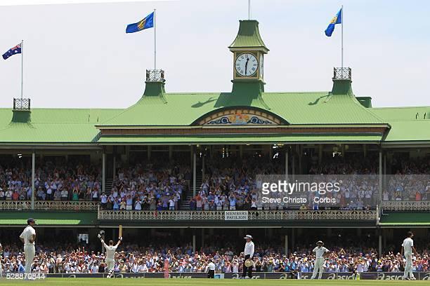Australia v India 2nd test at the Sydney Cricket Ground Australian captain Michael Clarke celebrates his double century Sydney Australia Friday 6th...