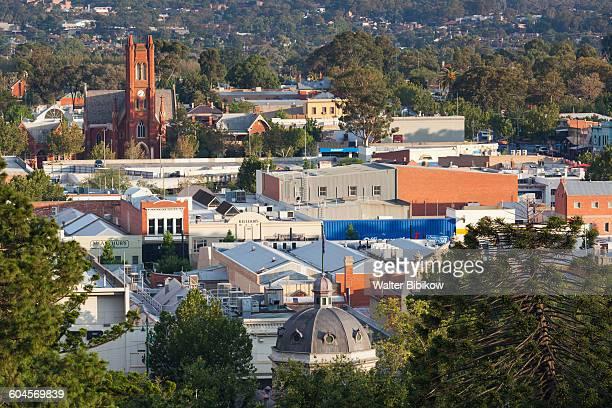 australia, victoria, exterior - bendigo stock pictures, royalty-free photos & images