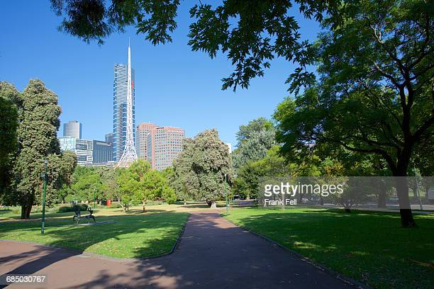 australia, victoria, melbourne, queen victoria gardens - queen victoria stock pictures, royalty-free photos & images