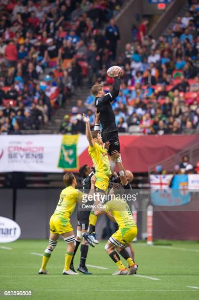 Australia vs New Zealand during day 2 of the 2017 Canada Sevens Rugby Tournament on March 12 2017 in Vancouver British Columbia Canada