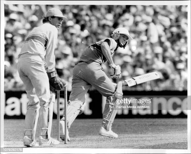 Australia Vs New ZealandB and H One day cricket series at the SCGConey turns Mathews January 14 1986