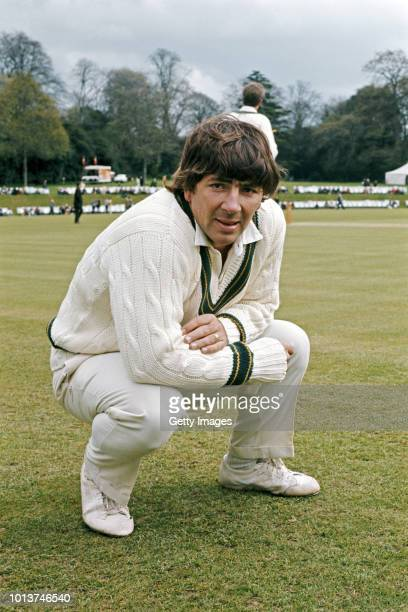 Australia wicket keeper Rodney Marsh pictured before a game on the 1972 Ashes tour to England