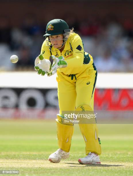 Australia wicketkeeper Alyssa Healy in action during the ICC Women's World Cup 2017 SemiFinal match between Australia and India at The 3aaa County...