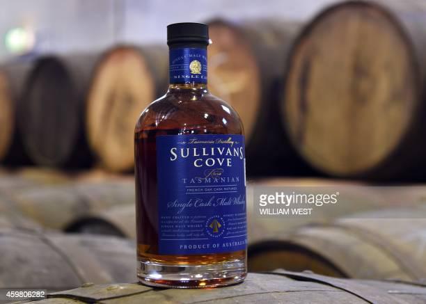 AustralialifestylewhiskydrinkFEATURE This photo taken on November 19 2014 shows a bottle of the awardwinning Sullivan's Cove single malt whiskey...