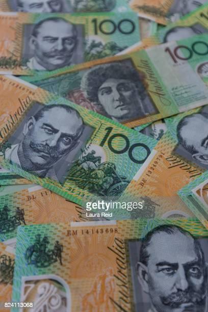 Australian $100 notes wallpaper
