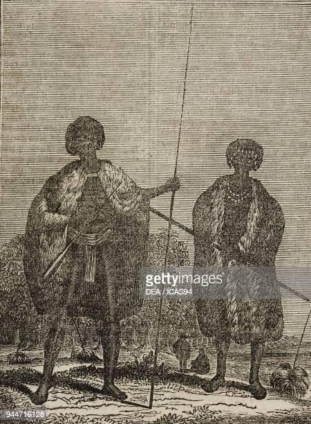 Australian Aborigines Australia illustration from Teatro universale Raccolta enciclopedica e scenografica No 161 August 5 1837