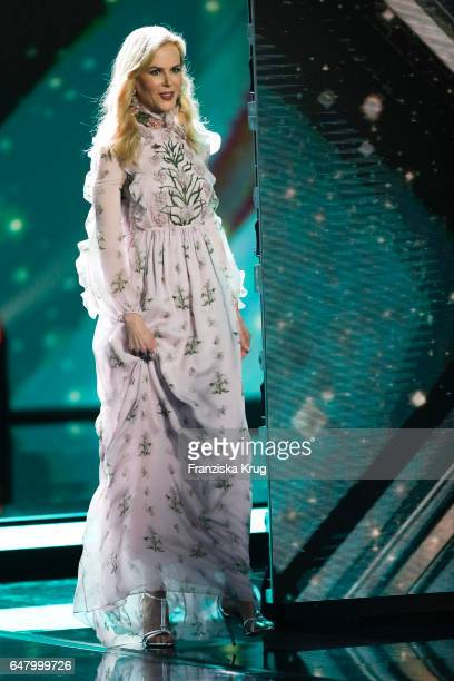 Australian actess and award winner Nicole Kidman during the Goldene Kamera show on March 4 2017 in Hamburg Germany