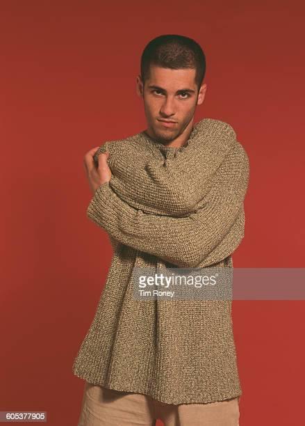 Australian actor Alex Dimitriades circa 1994