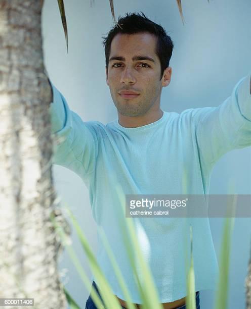 Australian actor Alex Dimitriades during the 1998 Cannes Film Festival