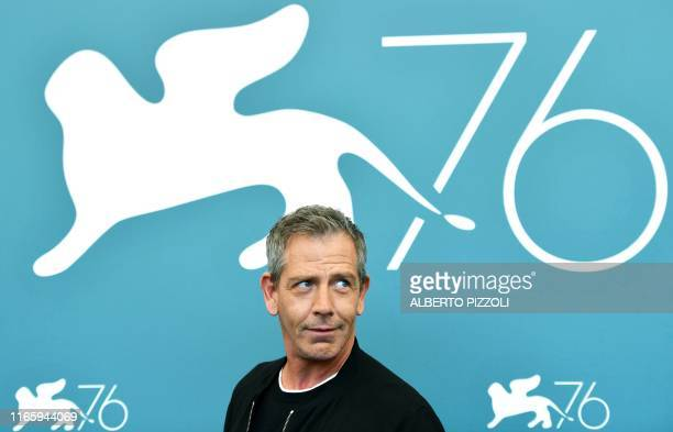 Australian actor Ben Mendelsohn poses during a photocall for the film Babyteeth by director Shannon Murphy presented on September 4 2019 in...