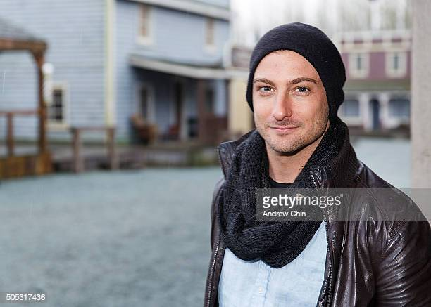Australian actor Daniel Lissing poses for a portrait during Hearties Family Reunion fan convention for 'When Calls The Heart' at Jamestown on January...