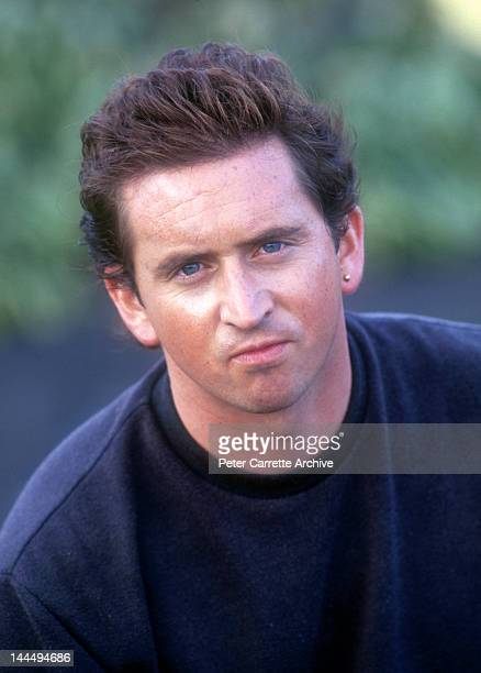 Australian actor Donal Gibson on the set of the film 'Fatal Bond' on location at Warriewood in May 1991 in Sydney Australia