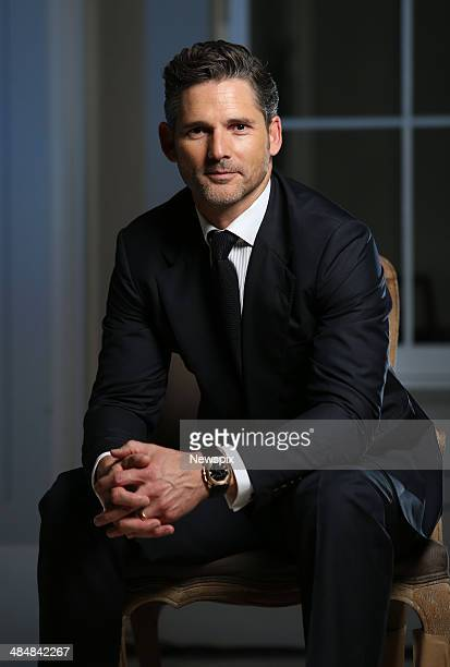 Australian actor Eric Bana poses during a photo shoot at the Bulgari 130th Anniversary Dinner held at a private house at Darling Point on April 10...