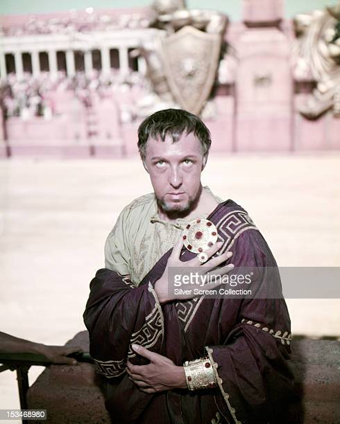 Australian actor Frank Thring as Pontius Pilate in 'BenHur' directed by William Wyler 1959