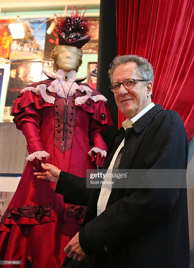 'The Extraordinary Shapes of Geoffrey Rush' Exhibition Media Preview