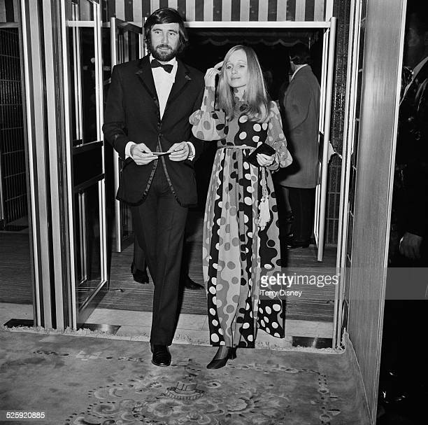 Australian actor George Lazenby and Polly Williams arrive at the film premiere of 'On Her Majesty's Secret Service' 18th December 1969