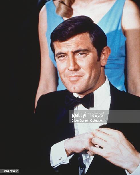 Australian actor George Lazenby as James Bond in the film 'On Her Majesty's Secret Service' 1969
