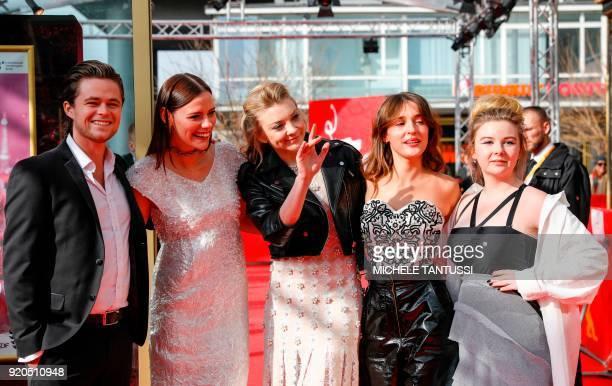 Australian actor Harrison Gilbertson Australian actress Lily Sullivan British actress Natalie Dormer French actress Lola Bessis and Australian...