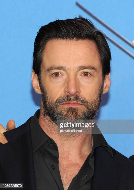 Australian actor Hugh Jackman arrives for a special screening of 'Eddie The Eagle' in Munich Germany 20 March 2016 Photo Ursula Dueren/dpa | usage...