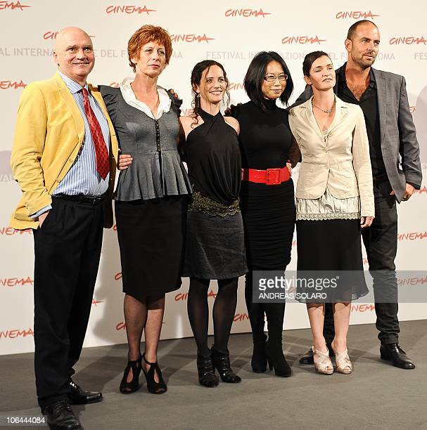 Australian actor James Hagan actress Nicola Bartlett actress Melanie Munt film director YuHsiu Camille Chen actress Nina Deasley and photo director...