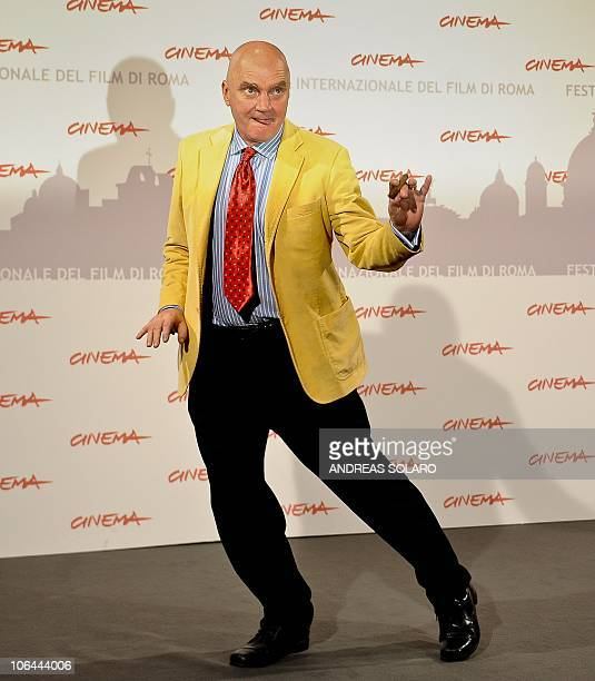 Australian actor James Hagan poses during the photocall of Little Sparrows at the fifth Rome Film Festival in Rome on November 2 2010 The film is...