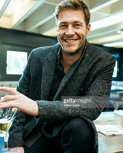 Australian actor Luke Bracey is photographed for The Wrap on December 17 2015 in Los Angeles California PUBLISHED IMAGE