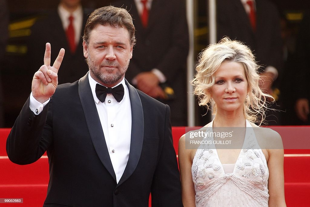 Australian actor Russel Crowe and his wi : News Photo