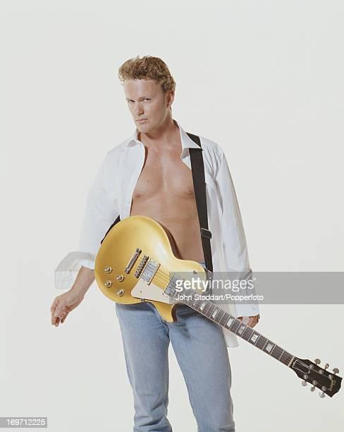 Australian actor singer and musician Craig McLachlan circa 1990