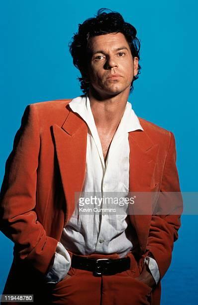 Australian actor, singer and musician Michael Hutchence , circa 1995.