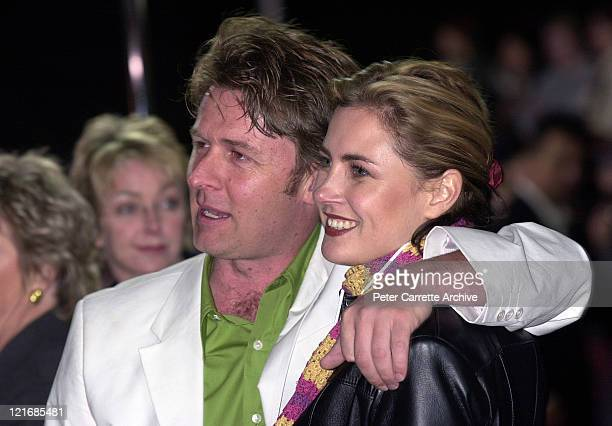 Australian actors John Polson and Dee Smart arrive for the premiere of the film 'Mission Impossible 2' at Fox Studios on May 30 2000 in Sydney...