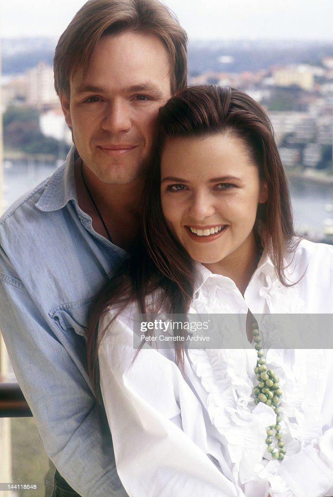 Australian Actors Mat Stevenson And Toni Pearen Who Appear In The News Photo Getty Images