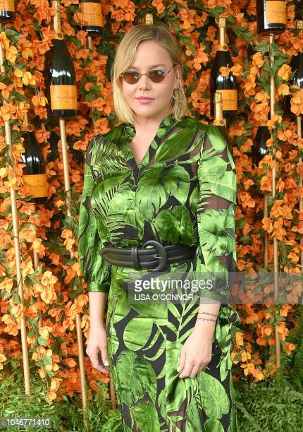 Australian actress Abbie Cornish attends the 9th Annual Veuve Clicquot Polo Classic in Los Angeles California on October 6 2018