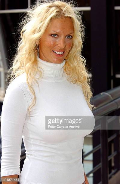 Australian actress and model Annalise Braakensiek at the 2004 TV Week Logie Award nominations at Quay Restaurant on March 22 2004 in Sydney Australia