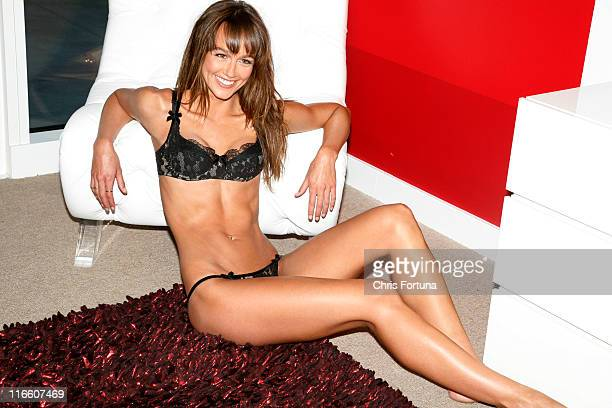 Australian actress and model Sharni Vinson is photographed for Maxim Magazine on May 21 2010 in Los Angeles California NO SALES TO GQ ESQUIRE FHM...