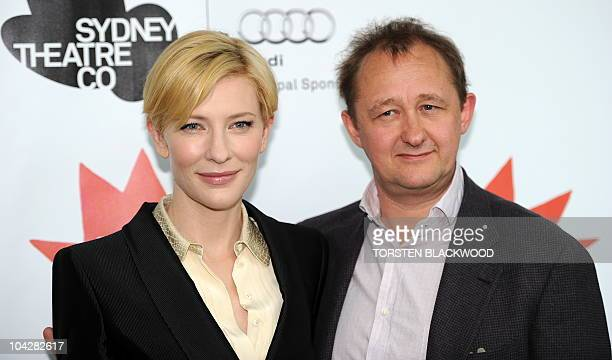 Australian actress Cate Blanchett and her husband Andrew Upton joint artistic directors of the Sydney Theatre Company announce their 2011 'Main Stage...